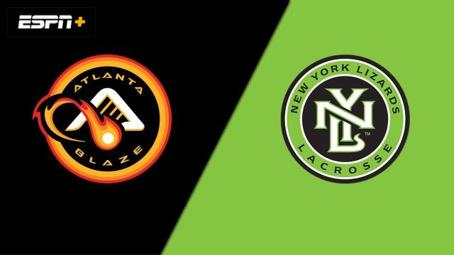 Atlanta Blaze vs. New York Lizards (Major League Lacrosse)