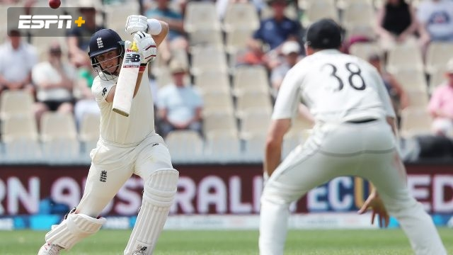 New Zealand vs. England (2nd Test - Day 4)