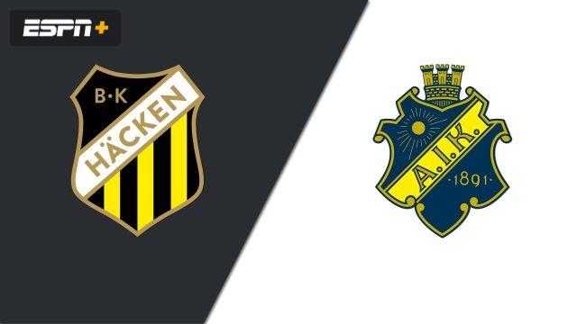 BK Hacken vs. AIK Fotboll (Allsvenskan)