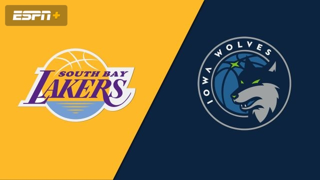South Bay Lakers vs. Iowa Wolves