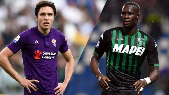 Fiorentina vs. Sassuolo (Serie A)