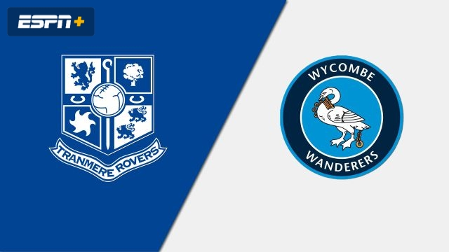 Tranmere Rovers vs. Wycombe Wanderers (English League One)