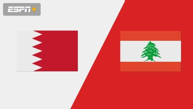 Bahrain vs. Lebanon