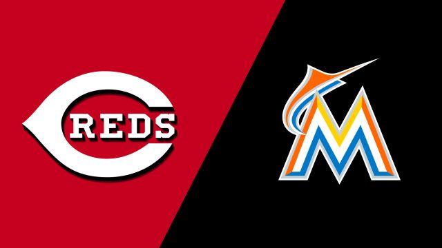 Cincinnati Reds vs. Miami Marlins
