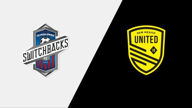 Colorado Springs Switchbacks FC vs. New Mexico United (Third Round) (U.S. Open Cup)