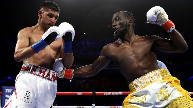 In Spanish - Top Rank Boxing on ESPN: Crawford vs. Khan