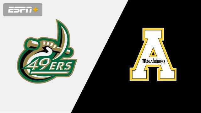 Charlotte vs. Appalachian State (M Basketball)