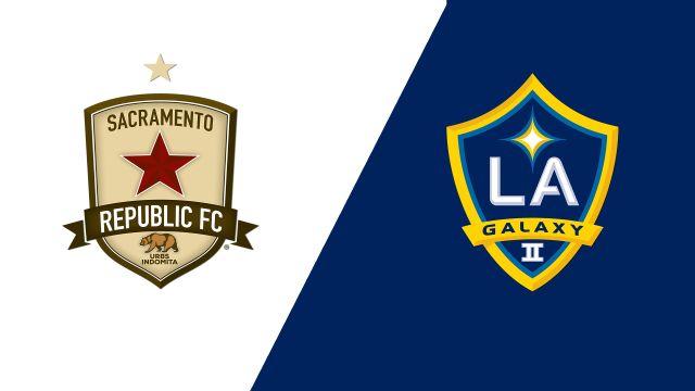 Sacramento Republic FC vs. LA Galaxy II