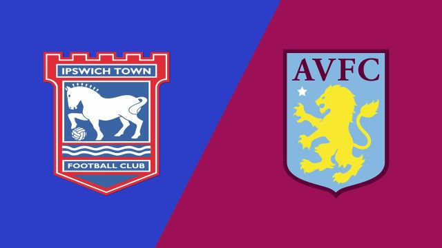 Ipswich Town vs. Aston Villa (English League Championship)