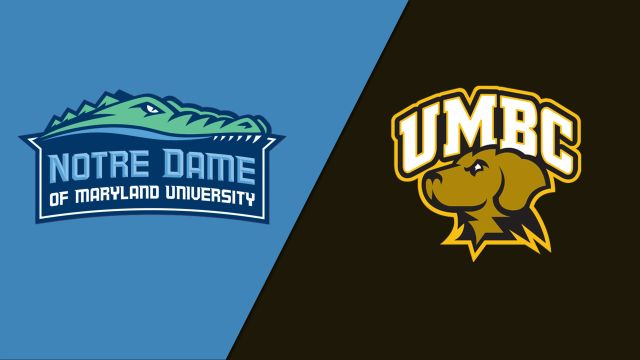 College of Notre Dame vs. UMBC (W Basketball)