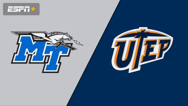 Middle Tennessee vs. UTEP (M Basketball)