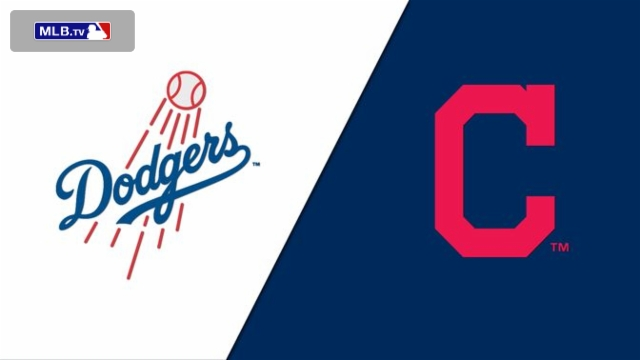 Los Angeles Dodgers vs. Cleveland Indians