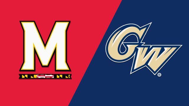 Maryland vs. George Washington (W Basketball)