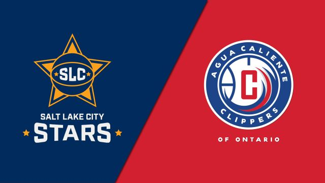 Salt Lake City Stars vs. Agua Caliente Clippers