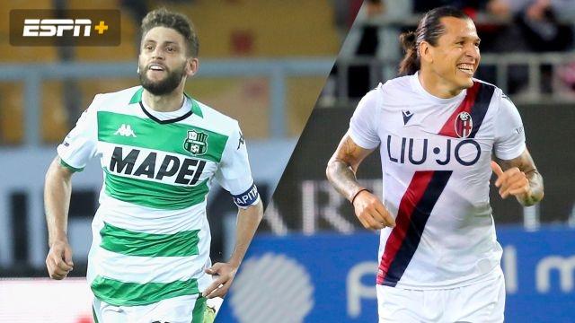 Sassuolo vs. Bologna (Serie A)