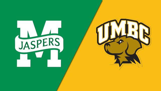 Manhattan vs. UMBC (M Basketball)