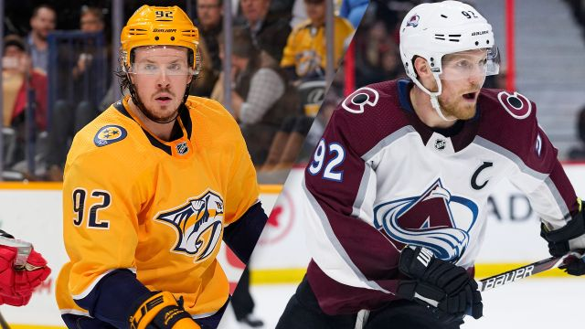 Nashville Predators vs. Colorado Avalanche