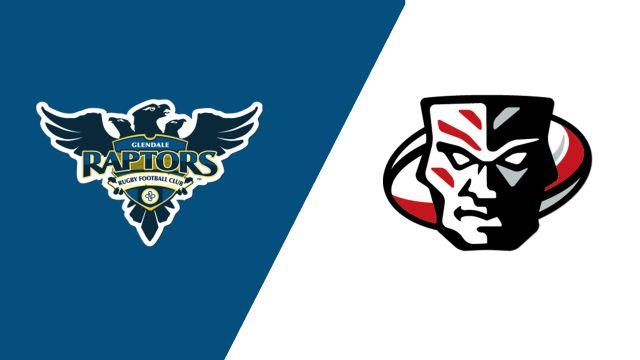 Glendale Raptors vs. Utah Warriors (Major League Rugby)