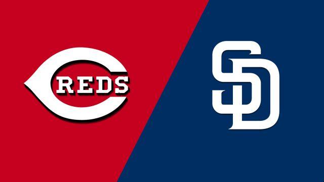 Cincinnati Reds vs. San Diego Padres