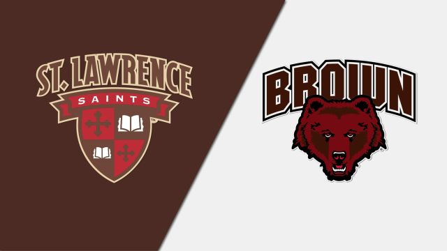 St. Lawrence vs. Brown (M Hockey)