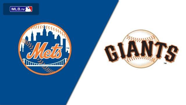 New York Mets vs. San Francisco Giants
