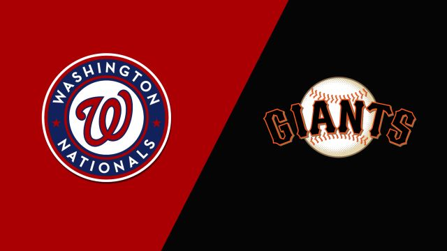 Washington Nationals vs. San Francisco Giants