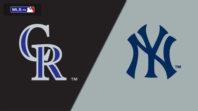 Colorado Rockies vs. New York Yankees