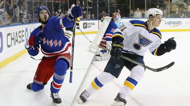 New York Rangers vs. St. Louis Blues