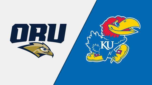 Oral Roberts vs. Kansas (W Basketball)