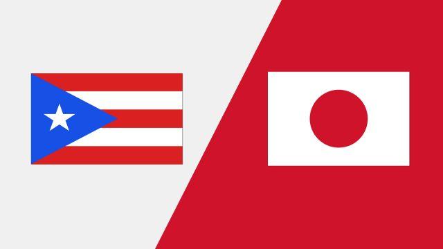 Puerto Rico vs. Japan