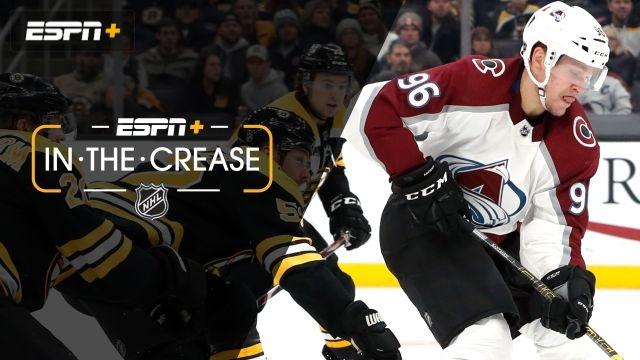 Sun, 12/8 - In the Crease: Can Avs keep winning streak?