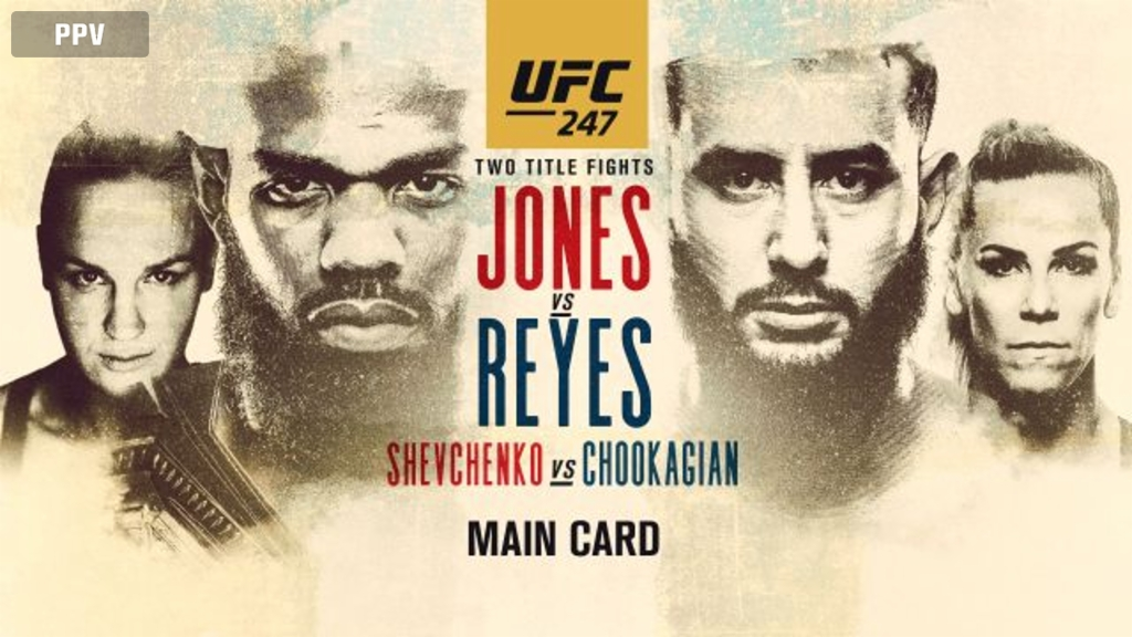 UFC 247: Jones vs. Reyes (Main Card)