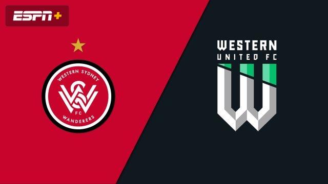 Western Sydney Wanderers FC vs. Western United FC (A-League)