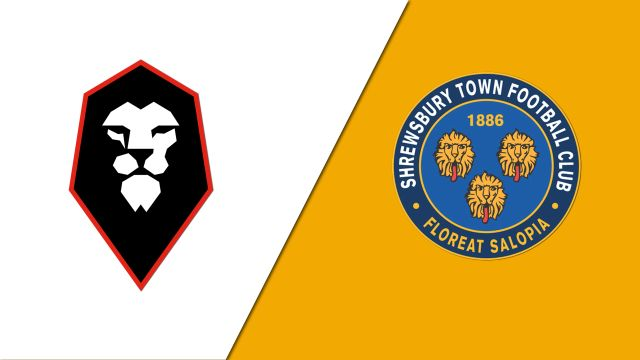 Salford City vs. Shrewsbury Town (Round 1) (FA Cup)