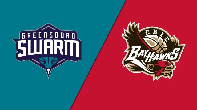 Greensboro Swarm vs. Erie BayHawks