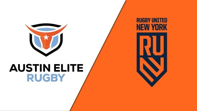 Austin Elite Rugby vs. Rugby United New York (Major League Rugby)