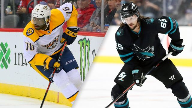 Nashville Predators vs. San Jose Sharks