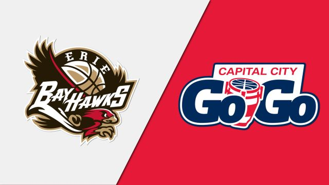 Erie BayHawks vs. Capital City Go-Go