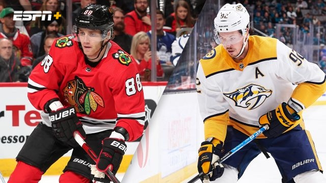 Chicago Blackhawks vs. Nashville Predators