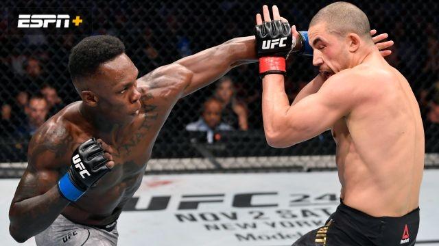 Robert Whittaker vs. Israel Adesanya (UFC 243)