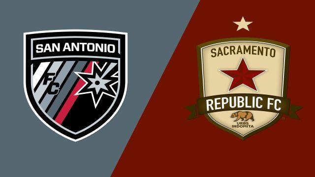 San Antonio FC vs. Sacramento Republic FC