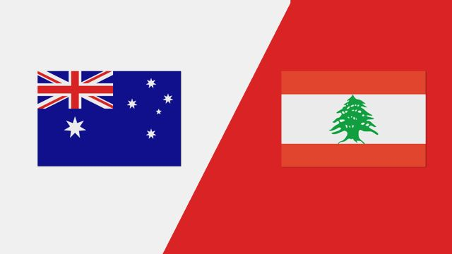 Australia vs. Lebanon (International Friendly)