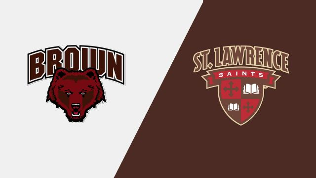 Brown vs. St. Lawrence (W Hockey)