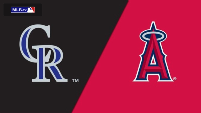 Colorado Rockies vs. Los Angeles Angels of Anaheim