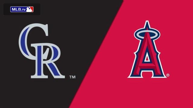 Colorado Rockies vs. Los Angeles Angels of Anaheim