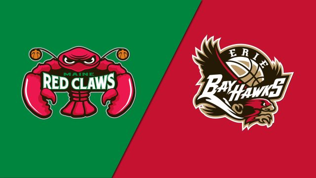 Maine Red Claws vs. Erie BayHawks