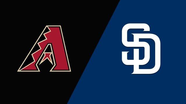 Arizona Diamondbacks vs. San Diego Padres