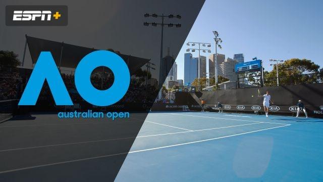(7) Peers/Venus vs. Delbonis/Mayer (Men's Doubles Second Round)