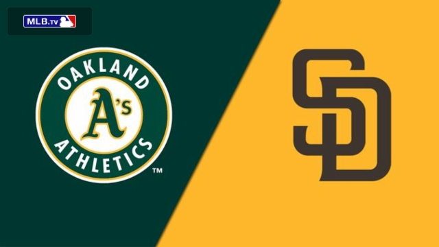 Oakland Athletics vs. San Diego Padres