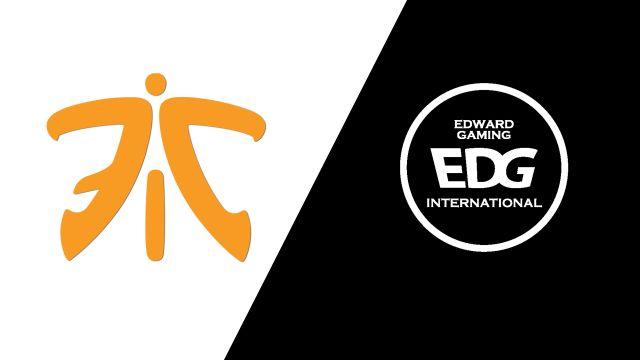 10/21 Fnatic vs. Edward Gaming